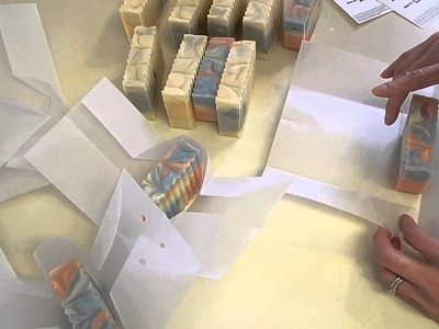 Packaging for Soap Swap Winter 2014