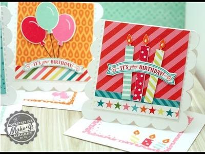 Papertrey Ink Make It Market: Party Pops Kit - Pop Up Enclosure Cards