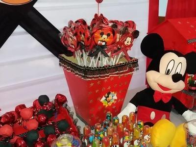 PASTILLITA SHOW tematica de mickey mouse