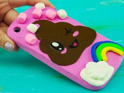 Poop Emoji Kawaii iPhone Case Tutorial for Kids | DIY Marshmallow Phone Case from Eva Foam