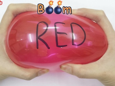 Popping Balloons | Learn colors for kids children toddlers and learn alphabets - Bonbi TV US