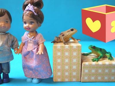 Princess and the frog toys | Barbie spielzeug videos | juguetes para niñas y niños