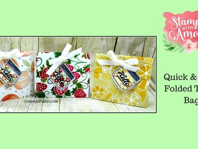 Quick & Easy Folded Treat Bag