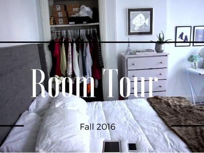 Room Tour +  Bedroom Makeover 2016