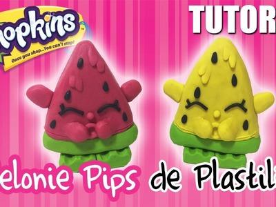 SHOPKINS de PLASTILINA. Melonie Pips ✅  Top Tips & Tricks en 1 minuto