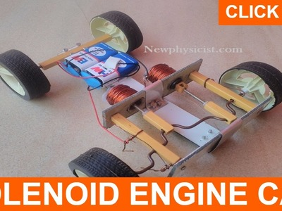 Solenoid Engine Car | Diy Tutorial | ONE MILLION VIEWS!!!