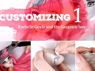 STEP BY STEP doll customizing - Ep. 1: hair removing, body sanding, rerooting