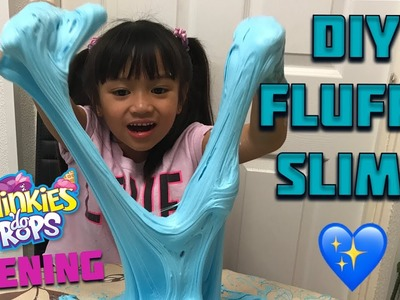 Super gross DIY fluffy slime - Squinkies Do Drops toy opening
