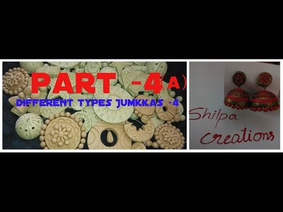 Terracotta Jewellery making | part 4(a)|Jumkkas |Telugu |తెలుగు