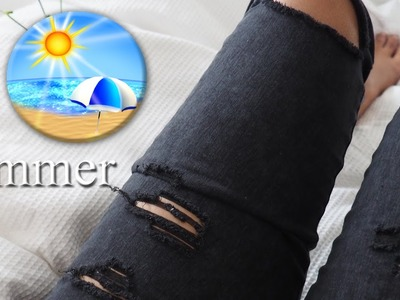 The best ways use old jeans for life | #lifehacks #oldjeans #summer
