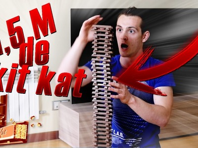 TORRE  DE +1,5 METROS de KIT KAT- KIT KAT CHALLENGE- Torete