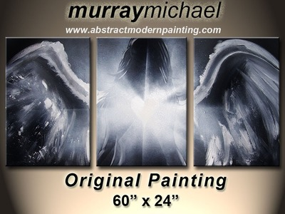Traditional Original ART speed painting by Murray Michael