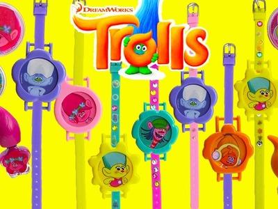 Trolls Nail Art and Bracelet Set with Surprises