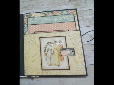 Tutorial Part 11 `A Ladies Diary` Graphic 45 ( album is for sale )