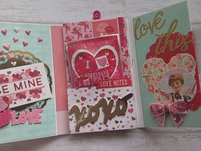 Valentine Love is in the Air Flip Book Share