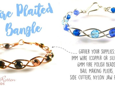 Wire Braided Bangle - Easy Wire Work