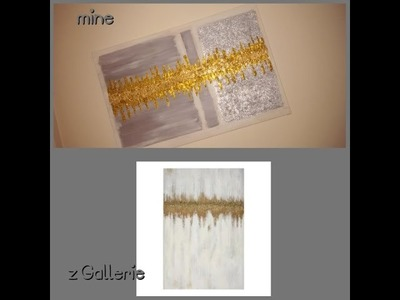 ZGALLERIE Inspired Canvas Wall Art