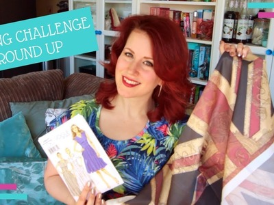2017 Sewing Challenge Round Up :: Vlog 21