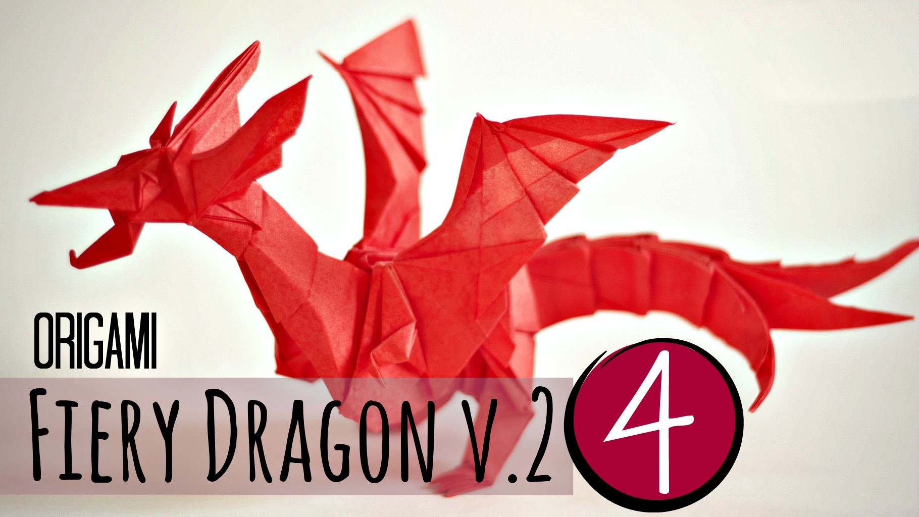 (4.5) How to make an origami Fiery Dragon v.2