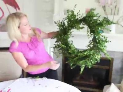 5 Minute Fresh Wreath