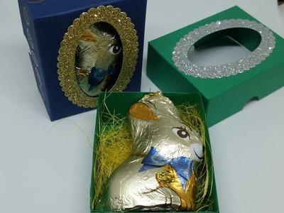 #6 Easter Week Cute Heat Embossed Bunny Box!