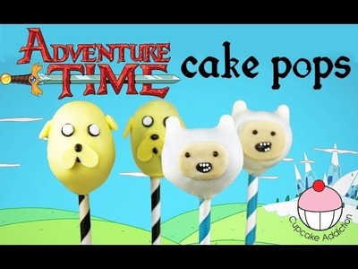 Adventure Time Cake Pops! How to Make Finn & Jake from Adventure Time - by Cupcake Addiction