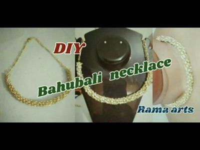 Bahubali necklace - making of sivagamini necklace | jewellery tutorials