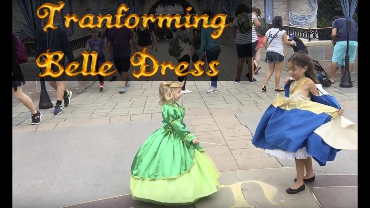 Belle Transformation @ Disneyland