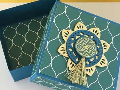 Big and Bold Gift Box - Eastern Palace Week, Video Tutorial - New from Stampin' Up