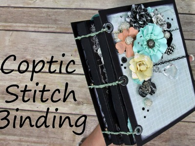 "Binding Coptic Stitch for the Ultimate ""SMALL Pocket Page Album"""