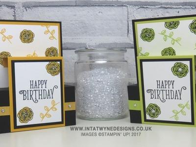 Birthday Extravaganza - Happy Birthday Gorgeous Side Panel Card