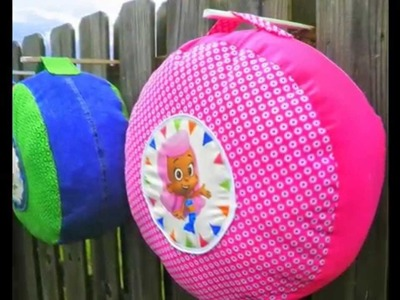 Bubble Guppies Floor Cushion ~Bean Bag Chair ~ Pouf ~ All Characters