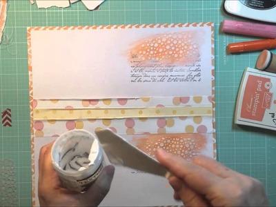 """""""Bunny Girl"""": A 12x12 Scrapbook Process"""