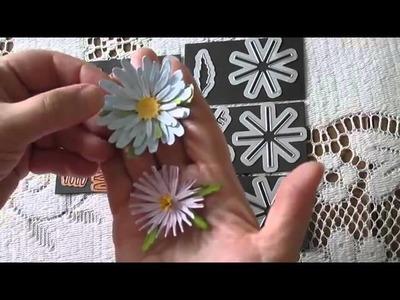 Card Making: Comparison of Flower Dies