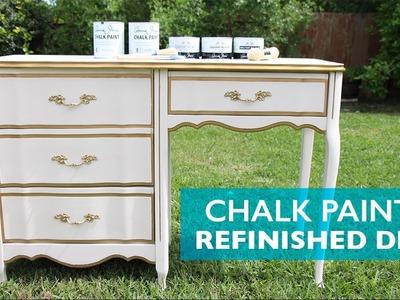 Chalk Paint® Refinished Desk   Cómo Renovar un Escritorio