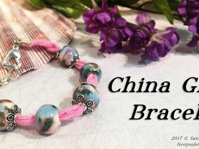 China Girl Bracelet - Bead Jewelry Tutorial