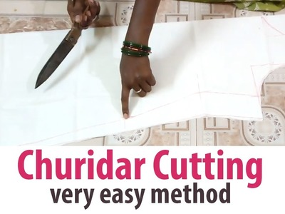 Churidar Cutting sudidhar Chudidar Lining top part-1.2 tailoring classes