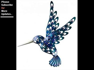 Collection Of Metal Wall Decor Birds | Wall Sculpture Art Ideas