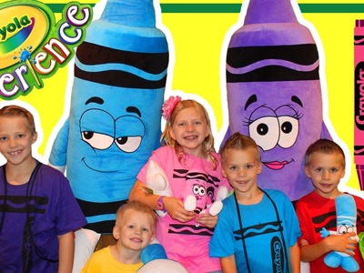 Crayola Experience Pennsylvania || Huge Indoor Playground!