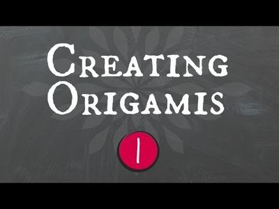 Creating origamis. criando origamis (part 1) (English Subs)