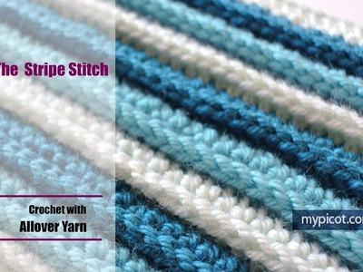 Crochet: The Stripe Stitch