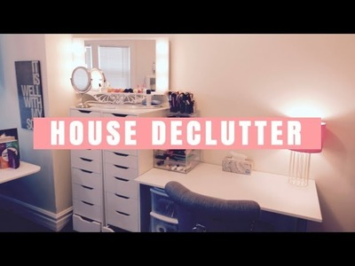 DECLUTTER MY HOUSE: BEFORE & AFTER TOUR