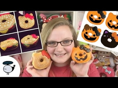 DESIGNING HELLO KITTY DONUT SQUISHIES! | SILLYSQUISHIES