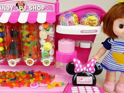 Disney Candy dispenser and Baby doll Orbeez surprise toys