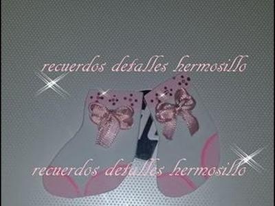 DIY calcetas o  tobillera   baby shower