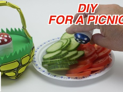 DIY Crafts Ideas for Your Picnic: How to Make Waste Material Salt and Pepper Shakers