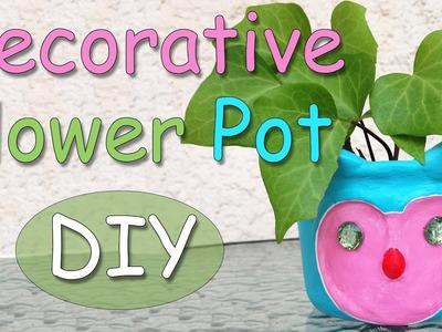 DIY Decorative Flower Pot - Ana | DIY Crafts
