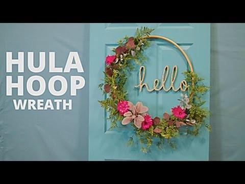 Viahart noodle portable flexible exercise spring hula hoop pink