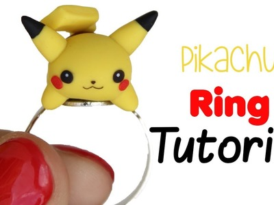 DIY PIKACHU RING TUTORIAL - POLYMER CLAY