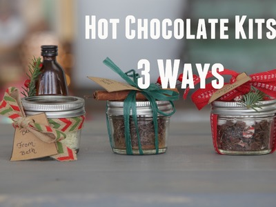 DIY Stocking Stuffer: Mason Jar Hot Chocolate Kits